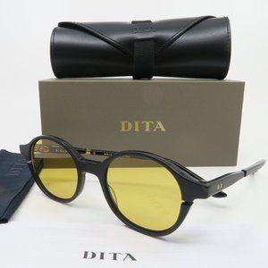 Dita SIGLO DTS113-48-01 Matte Black & Metal Round